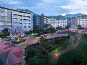 杭州新湖金色池塘新房楼盘图片