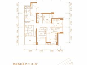深圳兆邦基碧湖春天新房楼盘户型图57