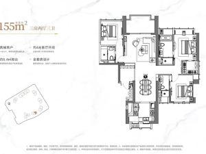 深圳龙华金茂府新房楼盘户型图109