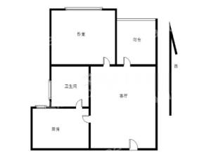 碧桂园领寓 1室1厅 42.18㎡ 简装深圳宝安区福永二手房图片