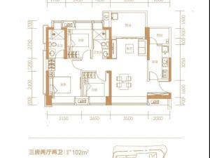 深圳兆邦基碧湖春天新房楼盘户型图55