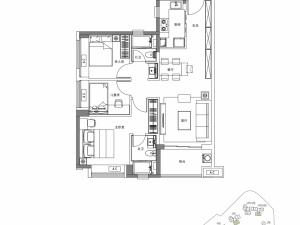 深圳卓越蔚蓝铂樾府新房楼盘户型图52