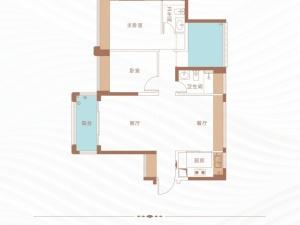 深圳丁山河畔新房楼盘户型图82