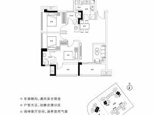深圳宝昌利御峰公馆新房楼盘户型图60