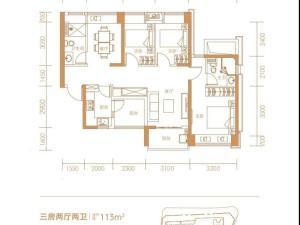 深圳兆邦基碧湖春天新房楼盘户型图64
