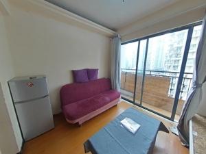 英伦玫瑰 1室1厅 40㎡ 整租_英伦玫瑰租房客厅图片4