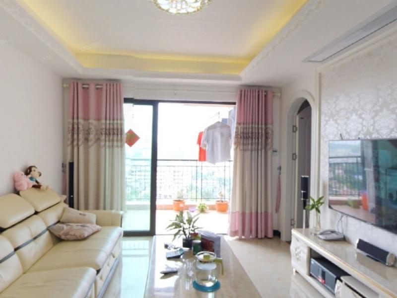 千林山居一期 2室2厅 78.7㎡ 精装_千林山居一期二手房客厅图片1