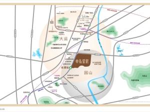 深圳卓弘星辰花园新房楼盘交通图72