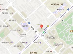 深圳龙光玖悦台新房楼盘交通图93