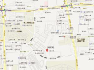 深圳大族云峰花园新房楼盘交通图178