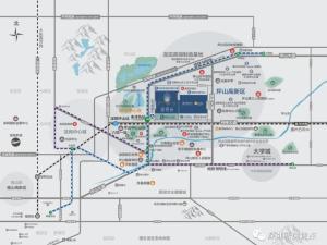 深圳玺悦台新房楼盘交通图37