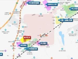 深圳玺悦台新房楼盘交通图35